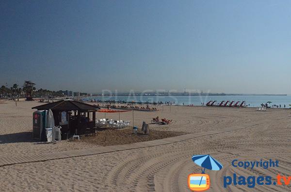 Playa de Raco et de Pineda - Salou et Tarragone