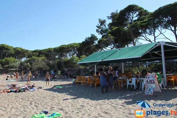 Snack sur la plage de Rec del Moli - Escala