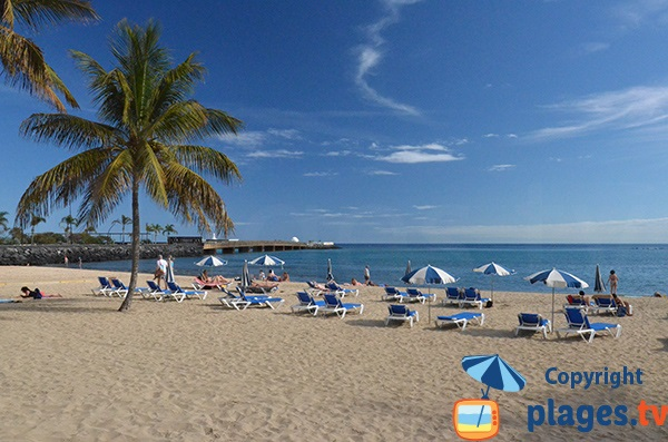 Photo of Reducto beach in Arrecife - Canary island