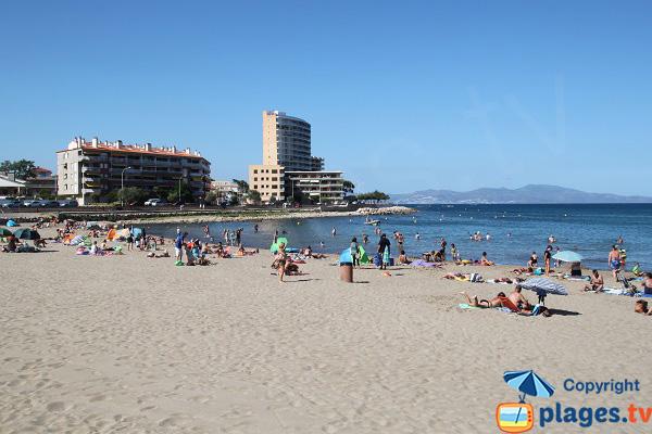Photo de la plage du Riells à l'Escala - Espagne