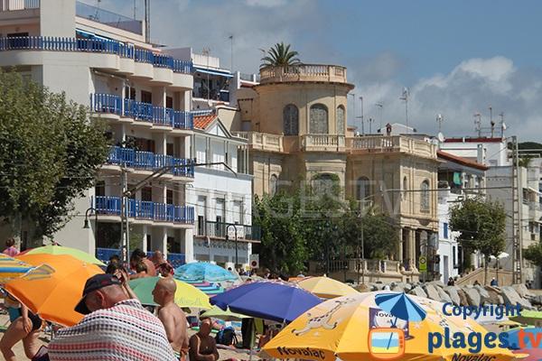 Villas en bord de mer à Sant Pol de Mar