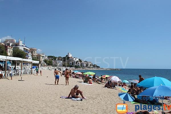 Photo de la plage Riera à Sant Pol de Mar en Espagne