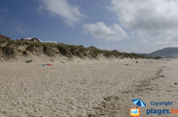 Dunes de la plage de Ris à Noja - Espagne
