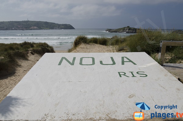 Plage de Ris à Noja - Espagne