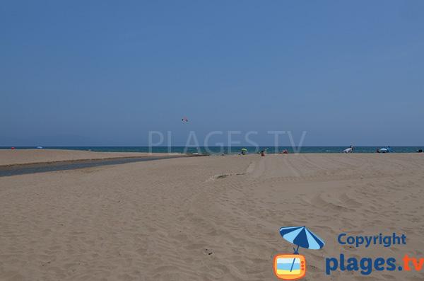 Photo de la plage du Riuet à Sant Pere Pescador - Espagne