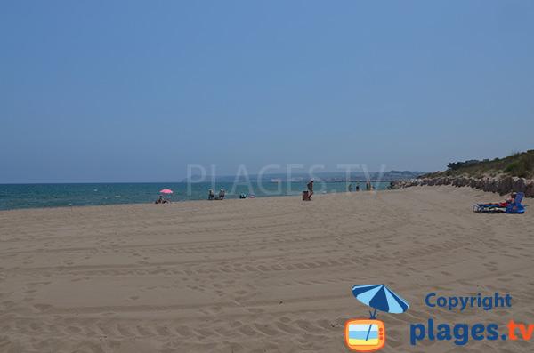 Plage du Riuet à Sant Pere Pescador - Costa Brava