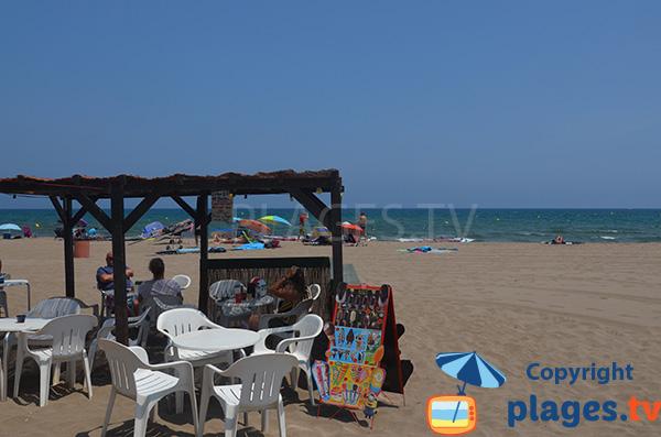 Paillote de la plage du Riuet - Sant Pere Pescador