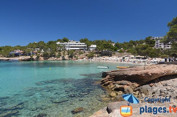 Grande plage de Portinatx - Ibiza