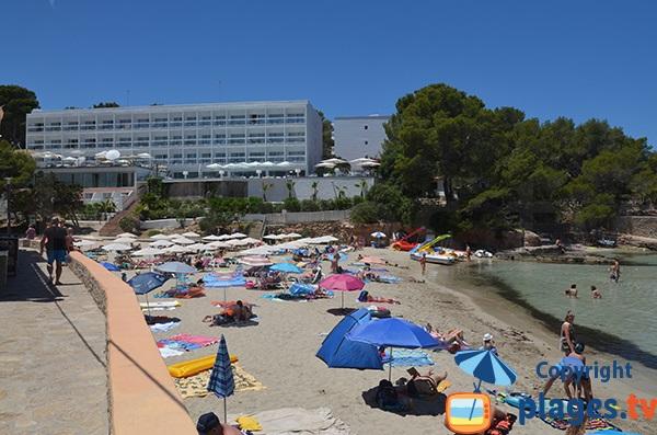 Plage de S'Arenal Petit à Portinatx - Ibiza