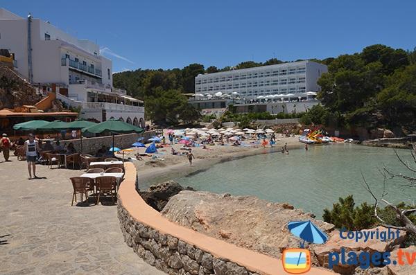 Photo de la petite plage de Portinatx - Ibiza