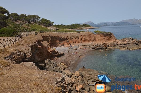 Crique de S'Illot dans le nord de Majorque