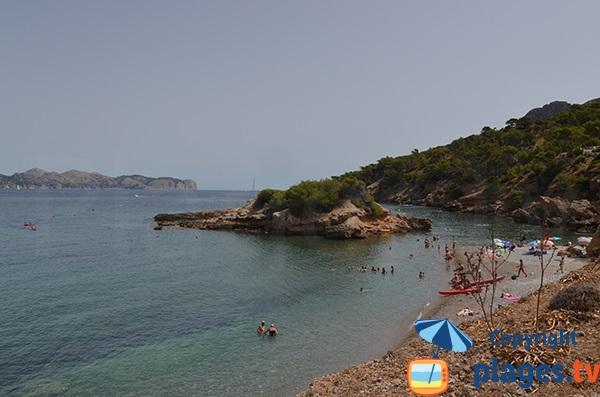 Photo de la plage de S'Illot à Alcudia - Majorque