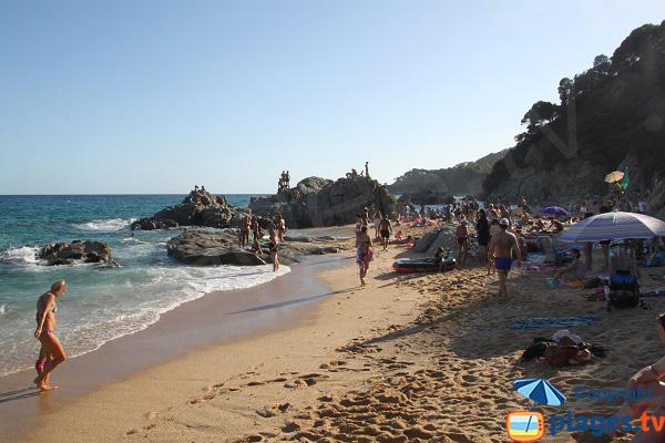 Crique de Sa Boadella à Lloret de Mar - Espagne