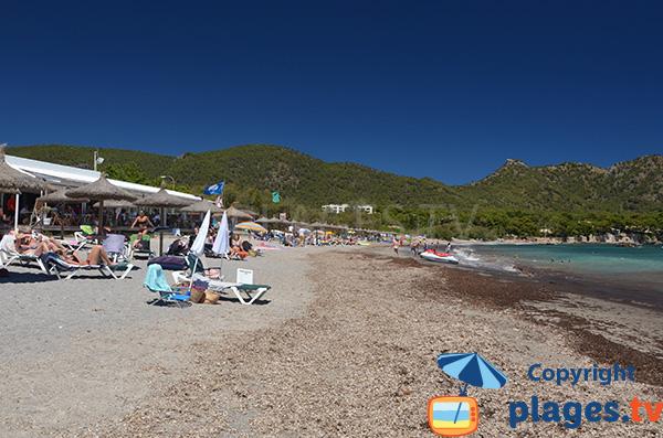 Restaurant sur la plage de Sa Marjal - Majorque