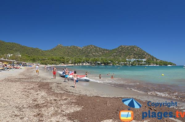 Belle plage au nord de Majorque - Sa Marjal