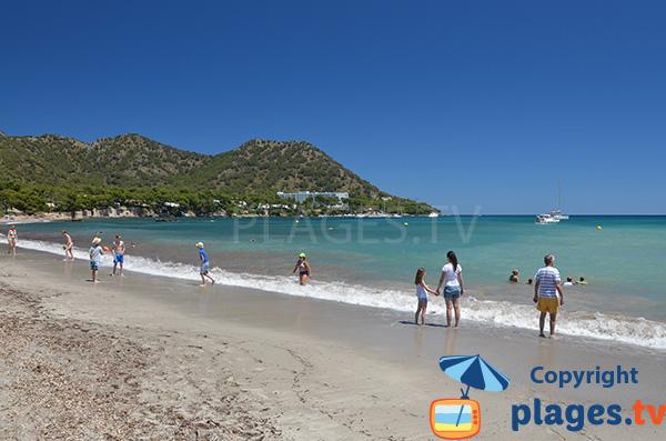 Plage de sable blanc à Majorque - Sa Marjal