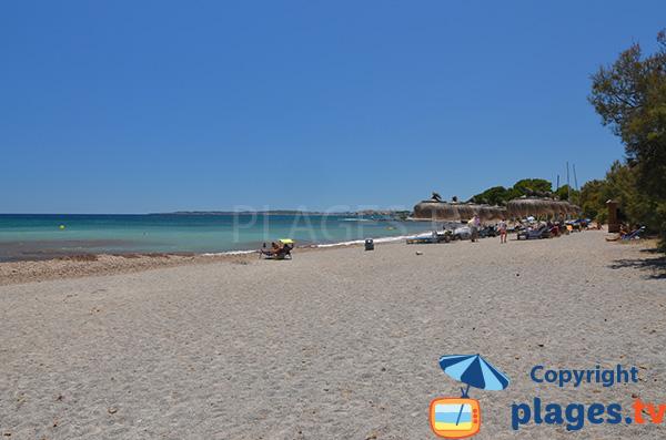 Photo de la plage de Sa Marjal à Costa dels Pins à Majorque
