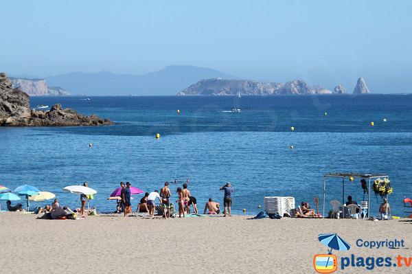 Sa Riera beach in Begur - Spain