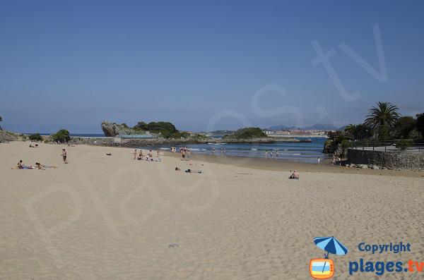 Playa El Sable à Isla - Espagne
