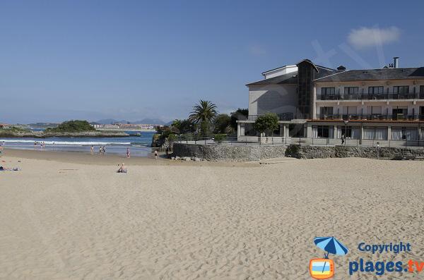 Plage des Sabres à Isla-Playa - Cantabrie - Espagne