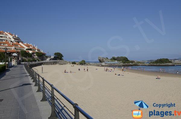 Plage du Sabre à Isla-Playa - Espagne