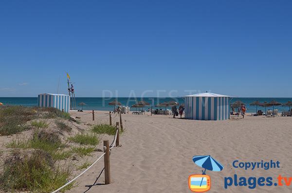 Location de matelas sur la plage de Saler - Valence