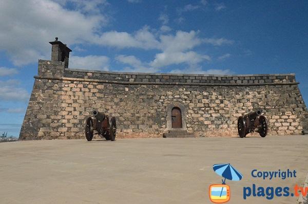 Canons et château de San Gabriel - Lanzarote - Arrecife