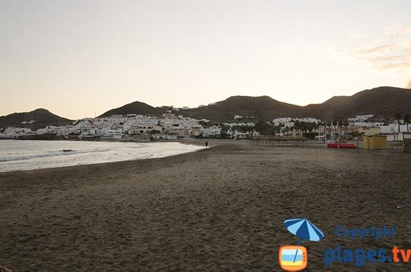Plage de San José au coucher du soleil - Espagne
