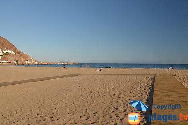 Photo de la plage de San José en Espagne