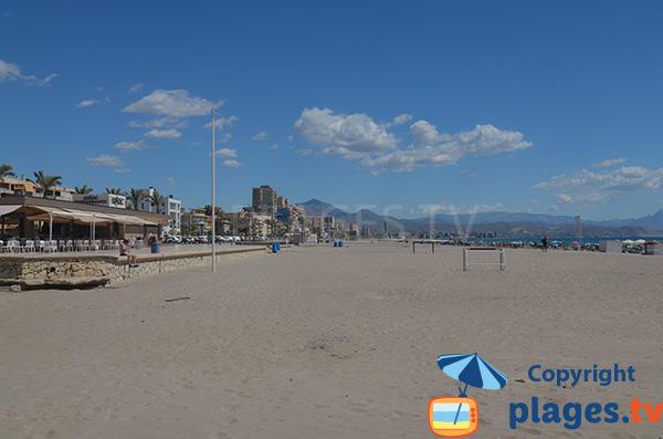 Photo de la plage de San Juan à Alicante en Espagne