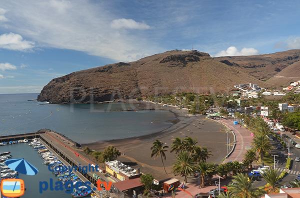 Photo de la plage de San Sebastian de la Gomera aux Canaries