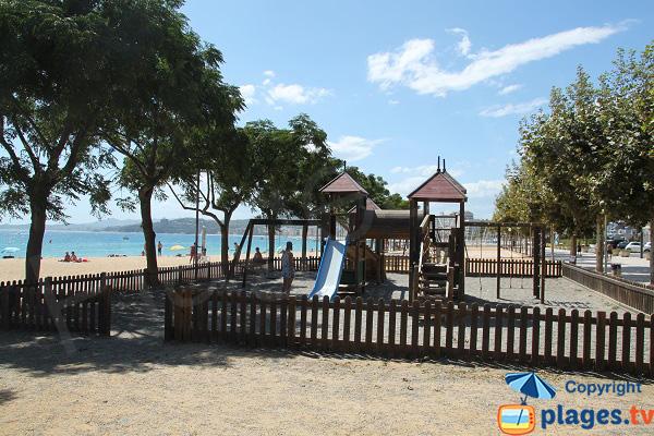 Aire de jeux pour les enfants à Sant-Antoni de Calonge