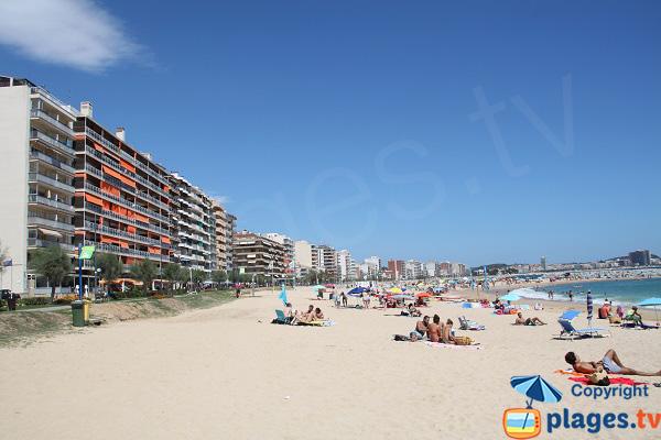 Immeubles en bord de mer de Sant-Antoni de Calonge - Espagne