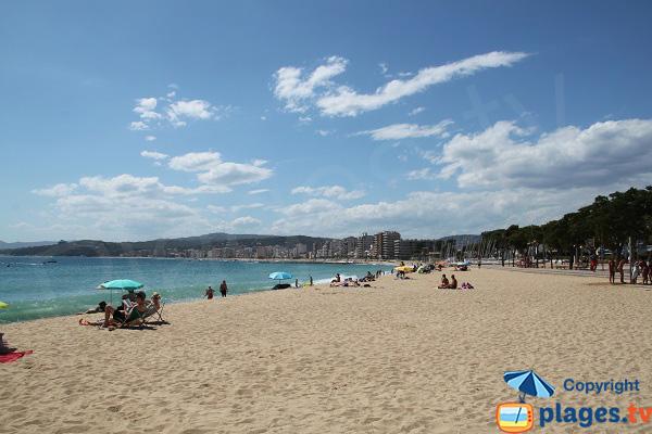 Photo de la plage de Sant-Antoni de Calonge en Espagne
