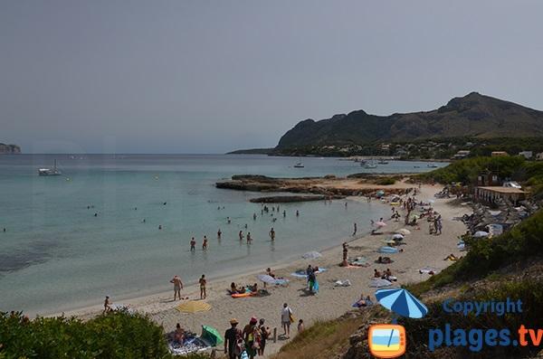 Plage de Sant Joan à Alcudia - Majorque