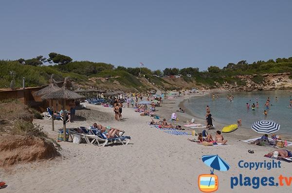 Photo de la plage de Sant Joan à Alcudia - Majorque