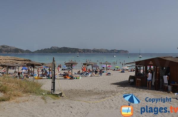 Photo de la plage de Sant Pere à Alcudia - Majorque