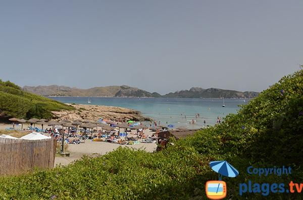 Photo de la plage de Sant Pere à Alcudia - Baléares