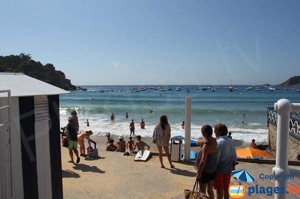 Spot de surf à Sant Feliu de Guixols - Costa-Brava