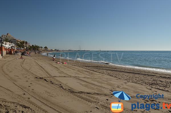 Photo de la plage de Santa Ana - Benalmadena