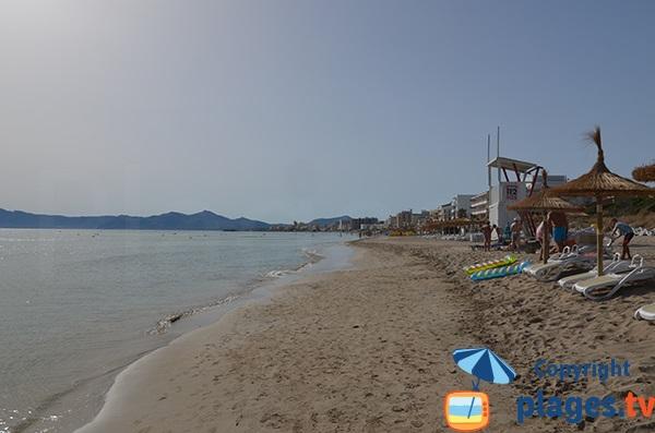 Plage de Santa Margalida - Can Picafort - Baléares