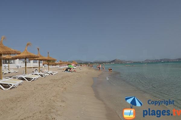 Photo de la plage de Santa Margalida - Can Picafort