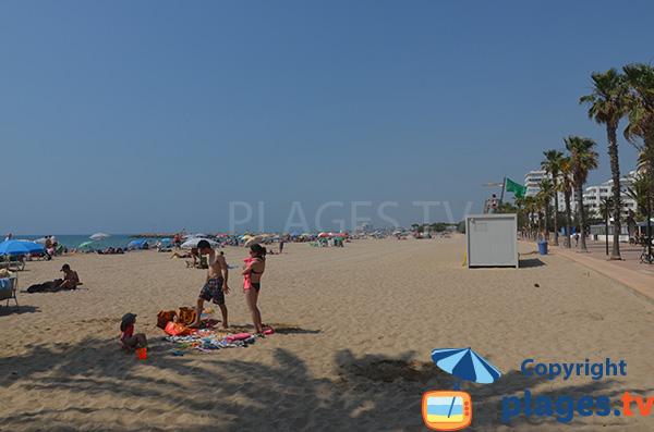 Photo de la plage de Santa Margarida à Roses - Espagne