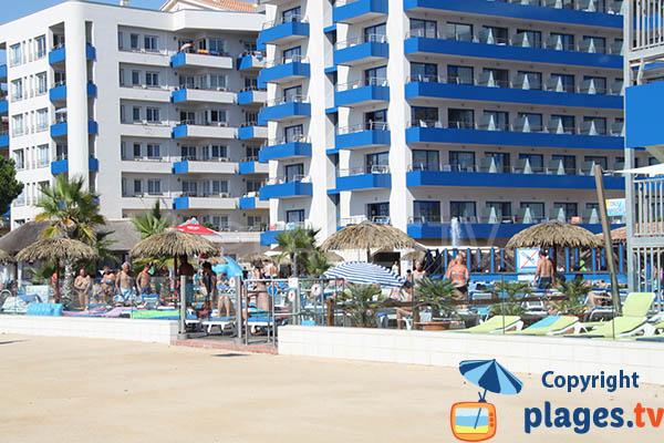 Hôtels sur la plage de Santa Susanna en Espagne