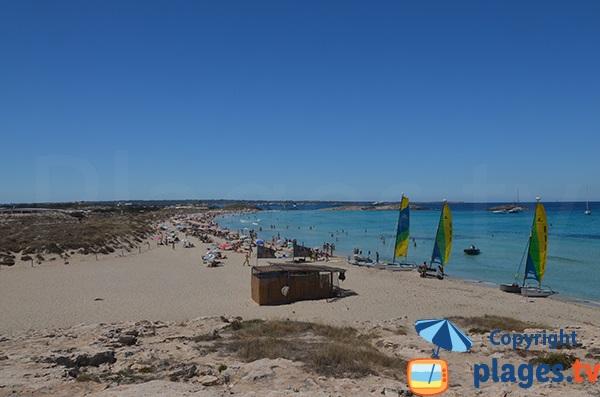 Plus belle plage de Formentera - Espagne