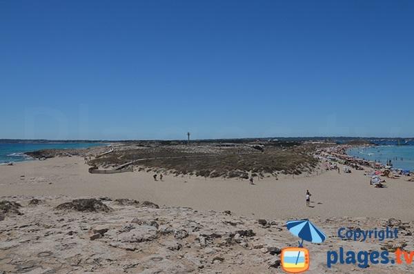 presqu'ile de Ses Illetes - Formentera