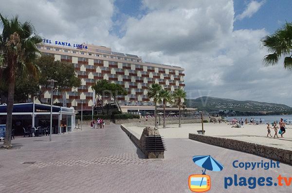 Hôtel sur la plage de Son Matias à Palmanova à Majorque