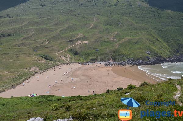 plage de Sonabia - Cantabrie - Espagne