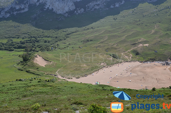 Dunes de la plage de Sonabia - Cantabrie - Espagne