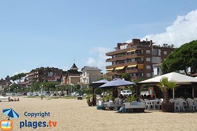Plage et bord de mer de Sant Vicenç de Montalt - Espagne